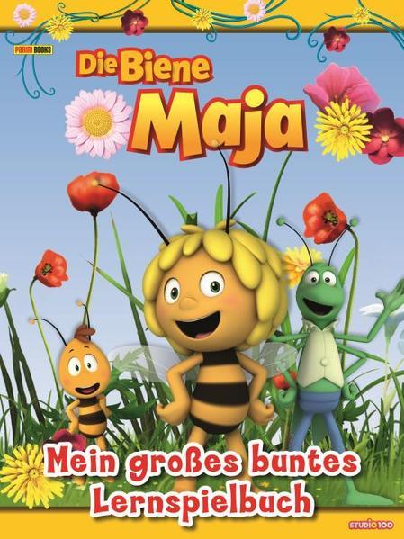 Die Biene Maja: Mein großes buntes Lernspielbuch Kostenloser Download Auf Tablet