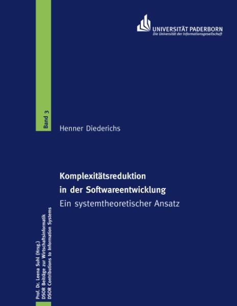 Komplexitätsreduktion in der Softwareentwicklung - Coverbild