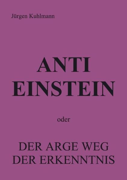 Anti Einstein - Coverbild