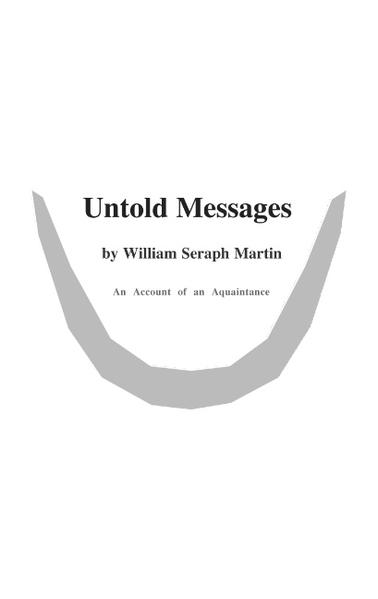 Untold Messages - Coverbild