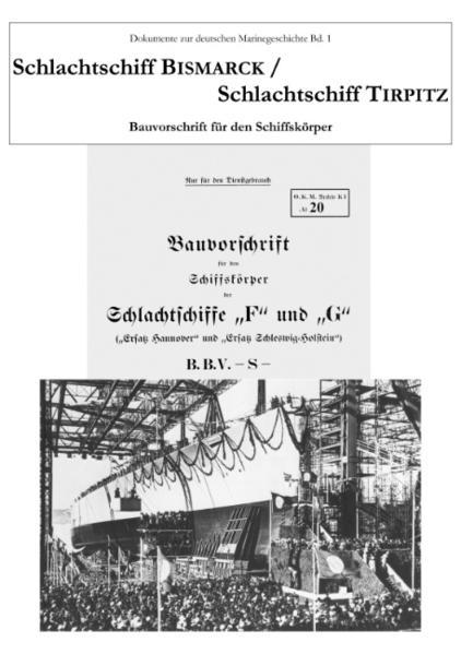 Schlachtschiff Bismarck /Schlachtschiff Tirpitz - Coverbild