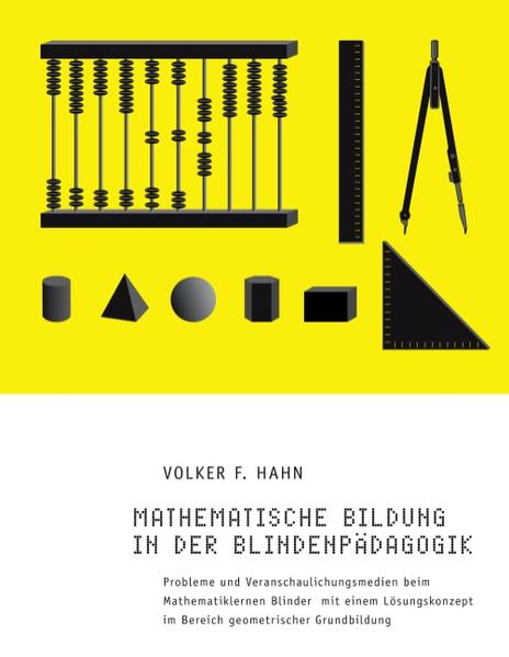 Mathematische Bildung in der Blindenpädagogik - Coverbild
