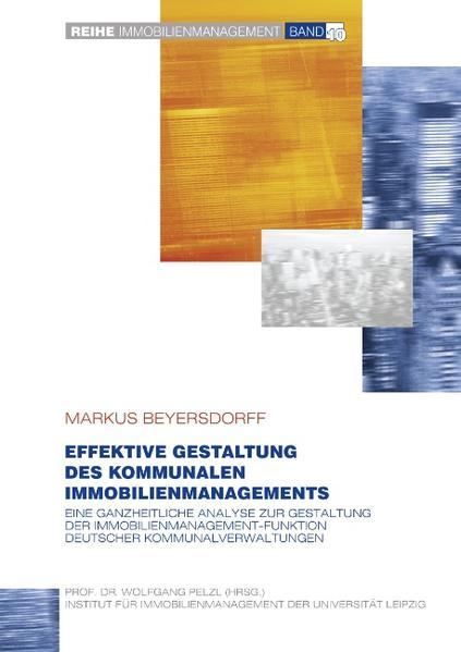 Effektive Gestaltung des kommunalen Immobilienmanagements - Coverbild