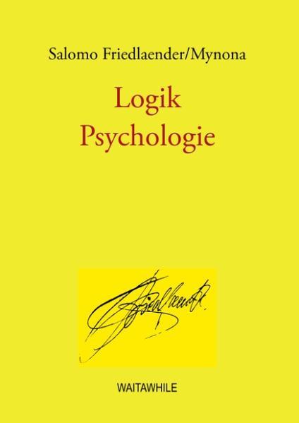 Logik /Psychologie - Coverbild