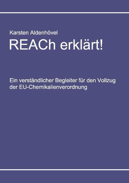REACh erklärt! - Coverbild