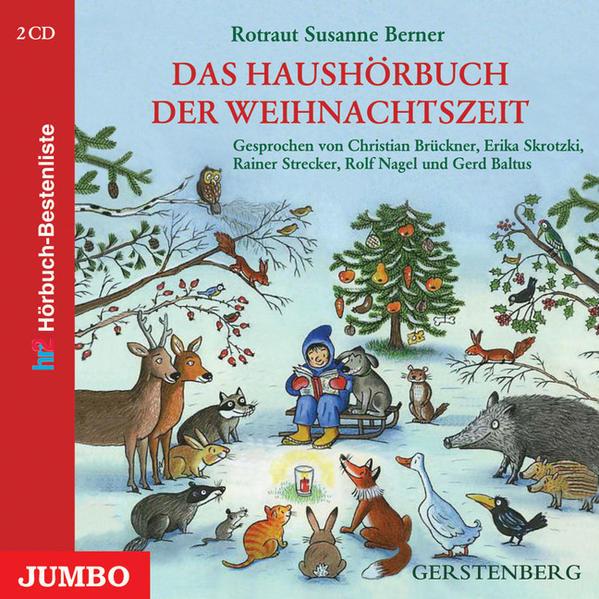 Das Haushörbuch der Weihnachtszeit - Coverbild