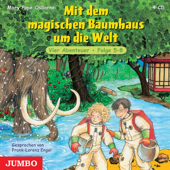 Mit dem magischen Baumhaus um die Welt - Coverbild