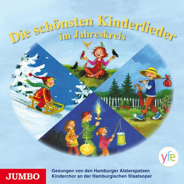 Die schönsten Kinderlieder im Jahreskreis - Coverbild