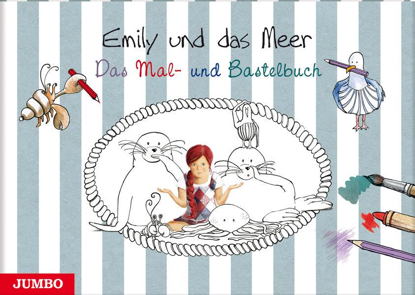 Emily und das Meer. Das Mal- und Bastelbuch - Coverbild