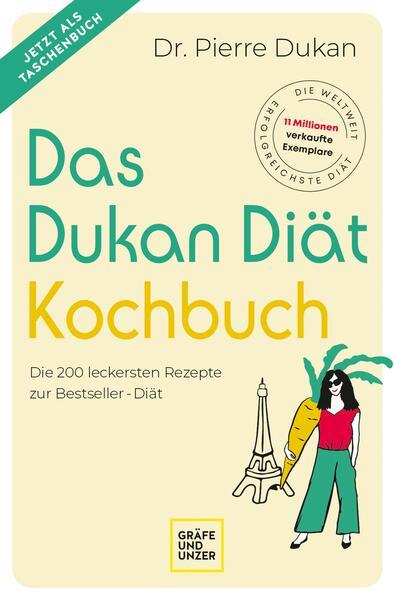 Das Dukan Diät Kochbuch - Coverbild