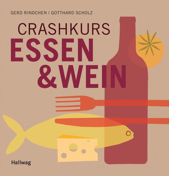 Crashkurs Essen und Wein - Coverbild