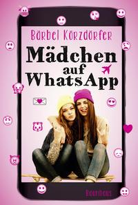 Mädchen auf WhatsApp Cover