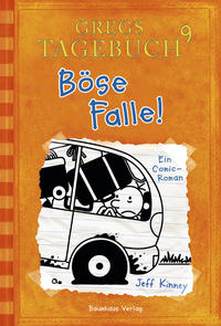 Gregs Tagebuch 9 - Böse Falle! Cover