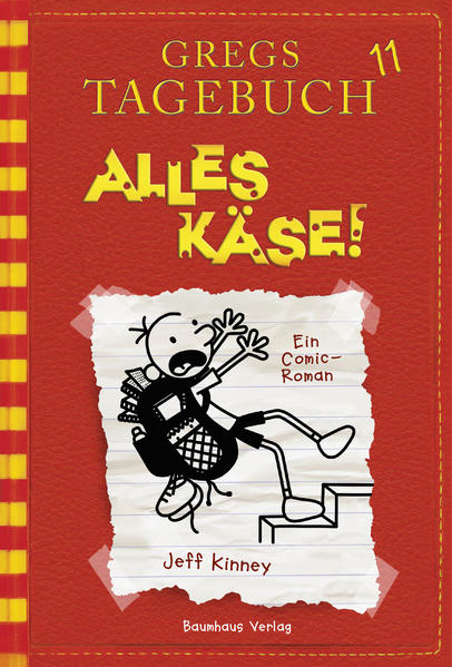 Gregs Tagebuch 11 - Alles Käse! - Coverbild