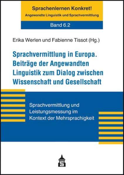 Angewandte Linguistik und Sprachvermittlung in Europa - Coverbild
