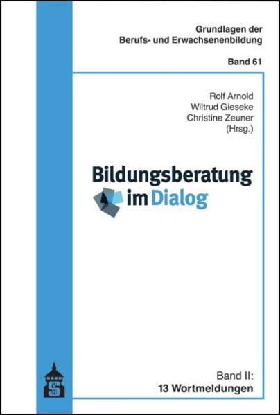 Bildungsberatung im Dialog - Coverbild