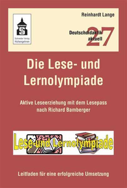 Die Lese- und Lernolympiade - Coverbild