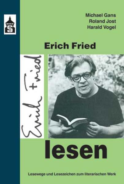 Erich Fried lesen - Coverbild