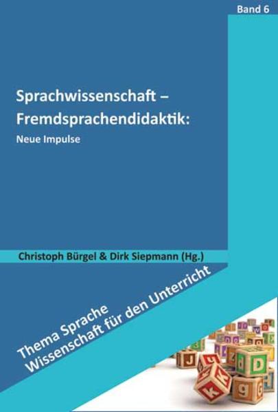 Sprachwissenschaft - Fremdsprachendidaktik: Neue Impulse - Coverbild