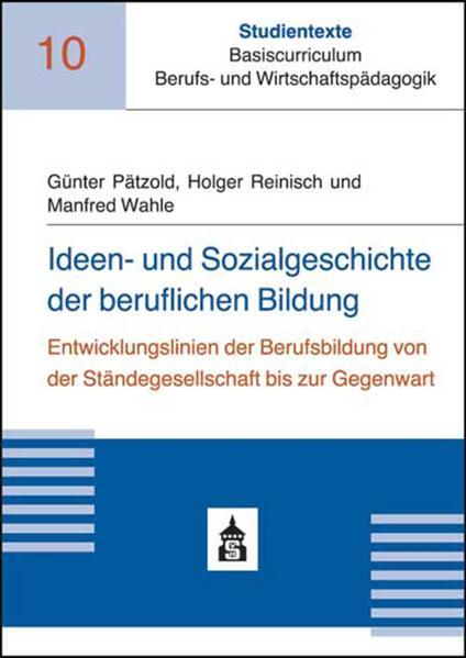 Ideen- und Sozialgeschichte der beruflichen Bildung - Coverbild