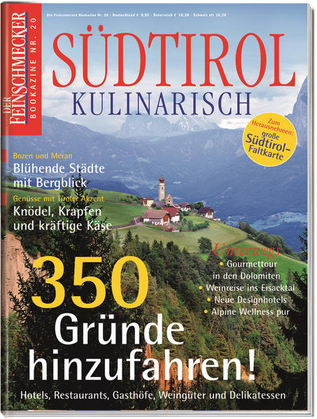 DER FEINSCHMECKER Südtirol Kulinarisch - Coverbild