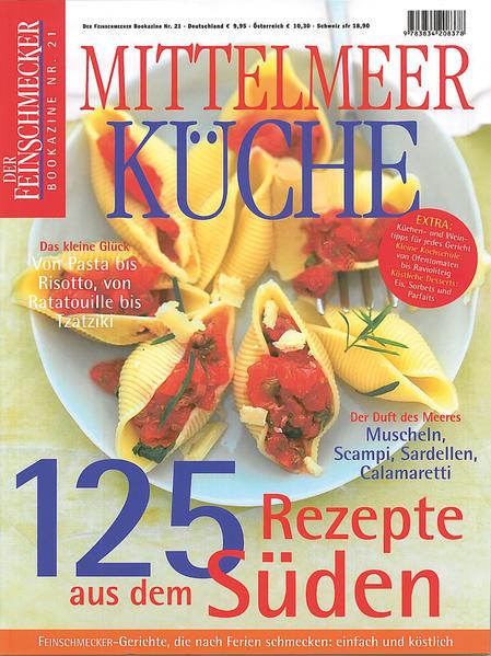 Ebooks DER FEINSCHMECKER Mittelmeer Küche Epub Herunterladen