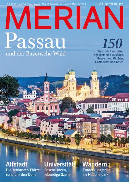 MERIAN Passau - Coverbild