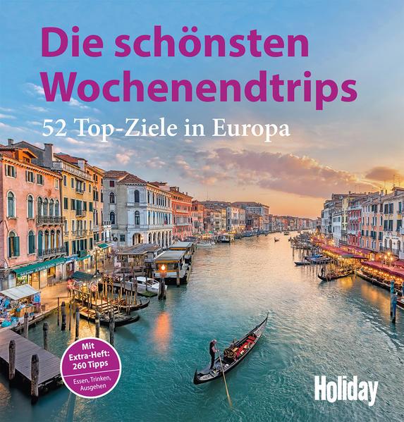 Holiday Reisebuch Die schönsten Wochenendtrips - Coverbild