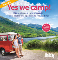 Holiday Reisebuch Yes we camp! Cover