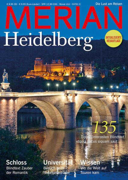 MERIAN Heidelberg - Coverbild
