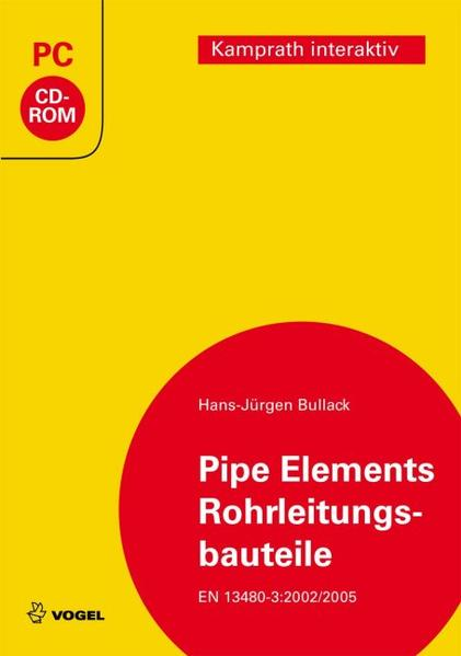 Pipe elements /Rohrleitungsbauteile - Coverbild