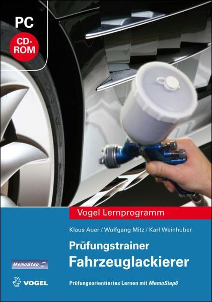 Prüfungstrainer Fahrzeuglackierer - Coverbild
