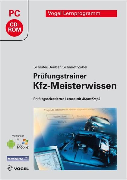 Prüfungstrainer Kfz-Meisterwissen - Coverbild