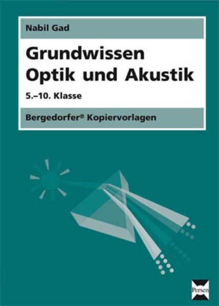 Grundwissen Optik und Akustik - Coverbild