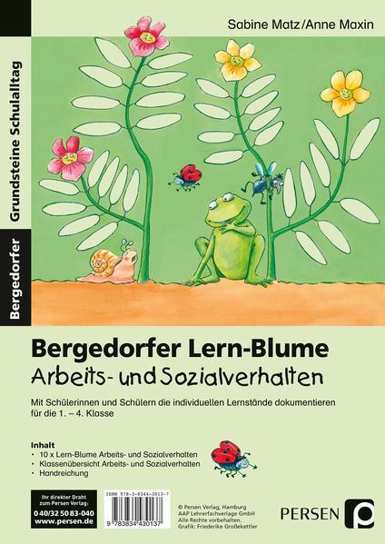 Bergedorfer Lern-Blume Arbeits- u. Sozialverhalten - Coverbild