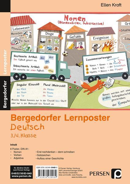Lernposter Deutsch 3./4.Klasse - Coverbild