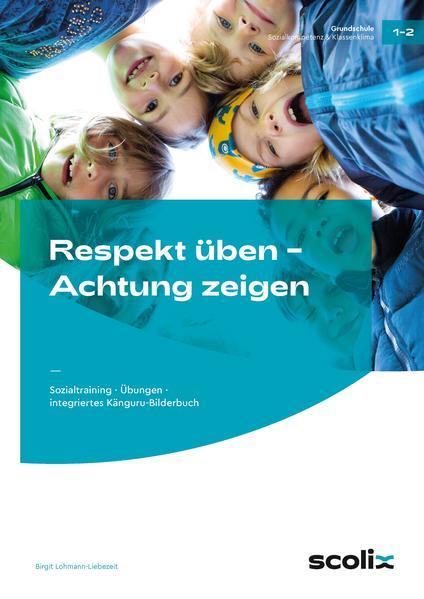 Respekt üben - Achtung zeigen - Coverbild