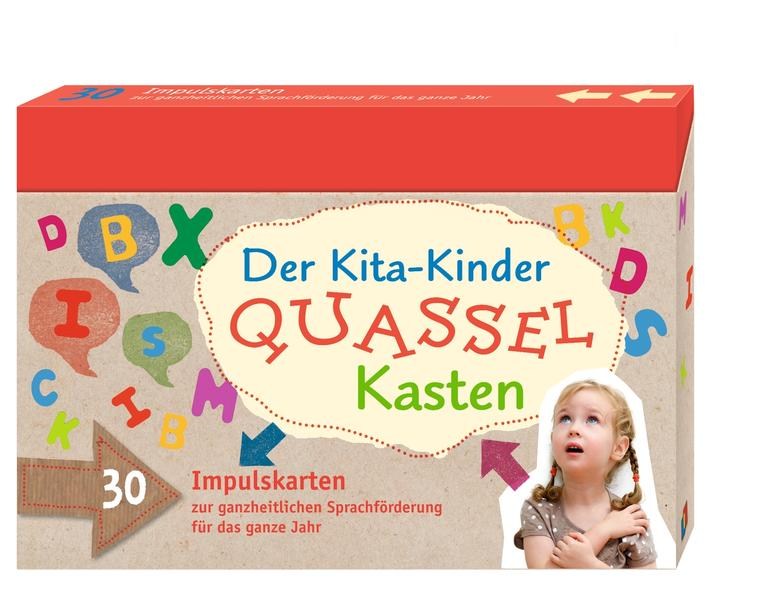 Der Kita-Kinder-Quasselkasten - Coverbild