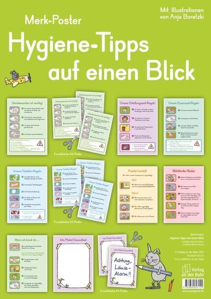 Hygiene-Tipps auf einen Blick - Coverbild