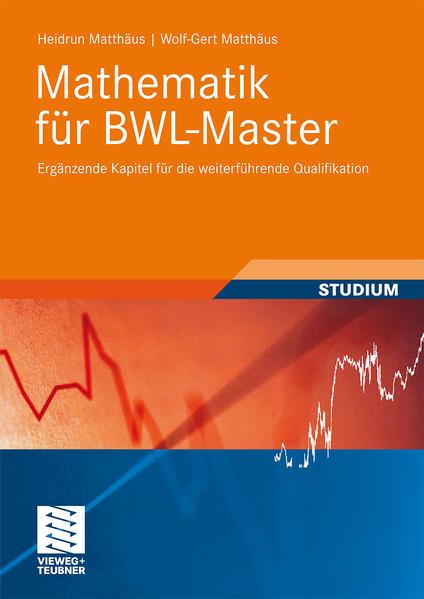 Mathematik für BWL-Master - Coverbild