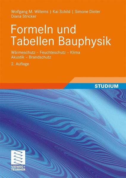 Formeln und Tabellen Bauphysik - Coverbild