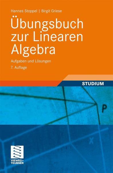 Übungsbuch zur Linearen Algebra - Coverbild
