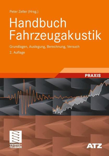 Handbuch Fahrzeugakustik - Coverbild