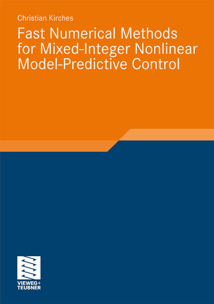 Fast Numerical Methods for Mixed-Integer Nonlinear Model-Predictive Control - Coverbild