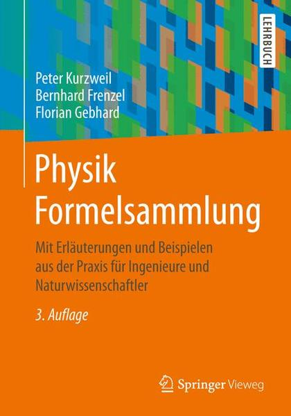 Physik Formelsammlung - Coverbild