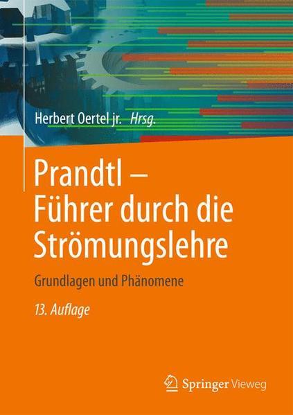 Prandtl - Führer durch die Strömungslehre - Coverbild
