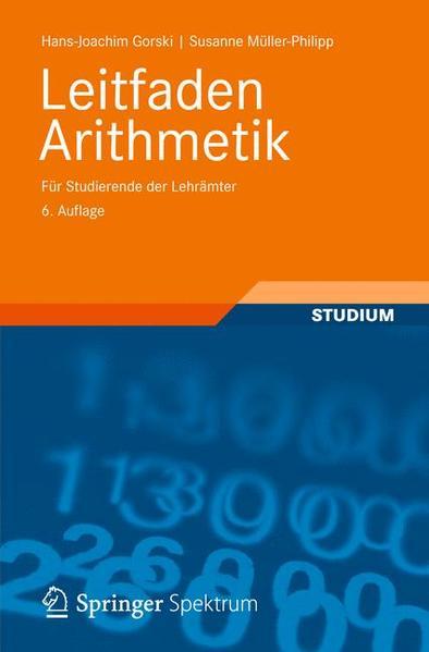 Leitfaden Arithmetik - Coverbild
