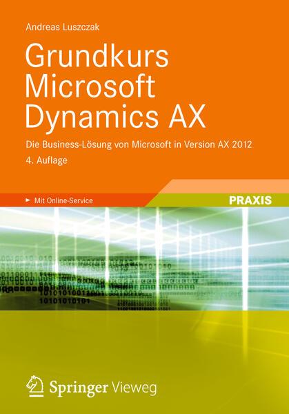 Grundkurs Microsoft Dynamics AX - Coverbild