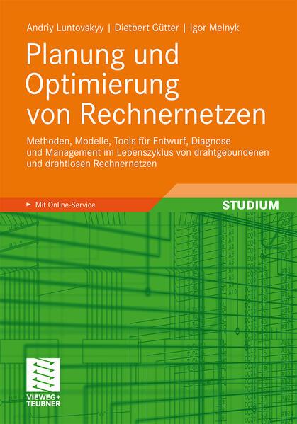 Planung und Optimierung von Rechnernetzen - Coverbild
