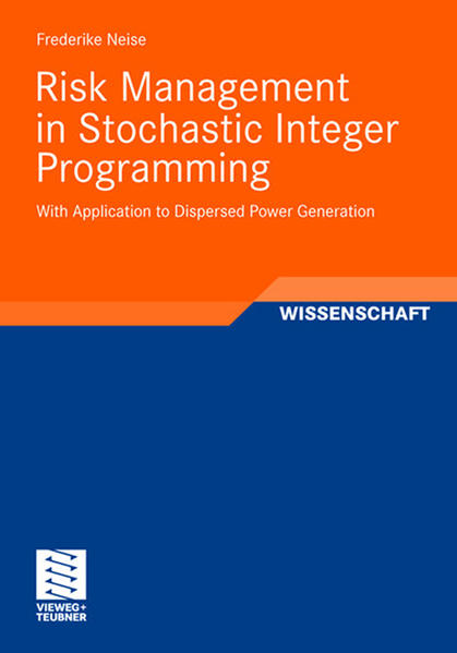 Risk Management in Stochastic Integer Programming - Coverbild
